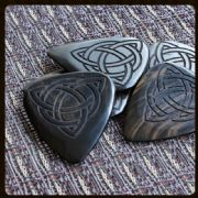 Laser Tones African Ebony Guitar Picks | Timber Tones